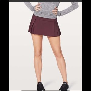 Lululemon lost in pace skirt dark adobe